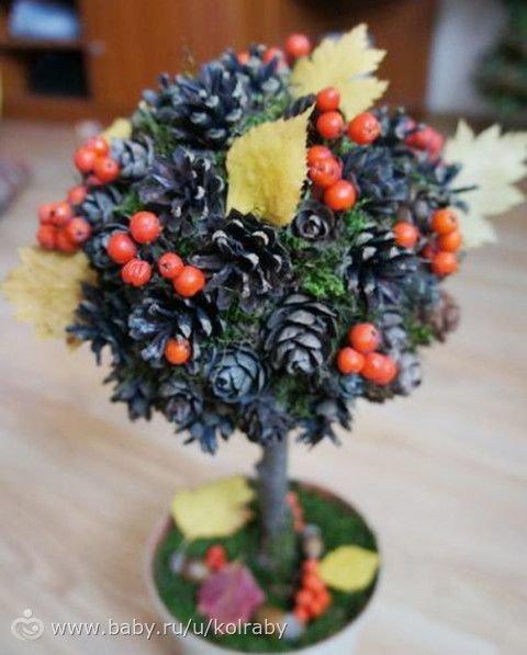 Поделки для садика на тему осень дерево своими руками фото 36