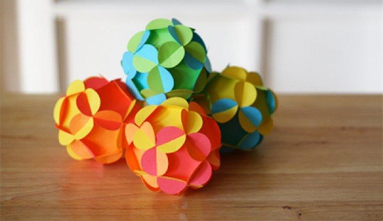 Игрушки из жатой бумаги