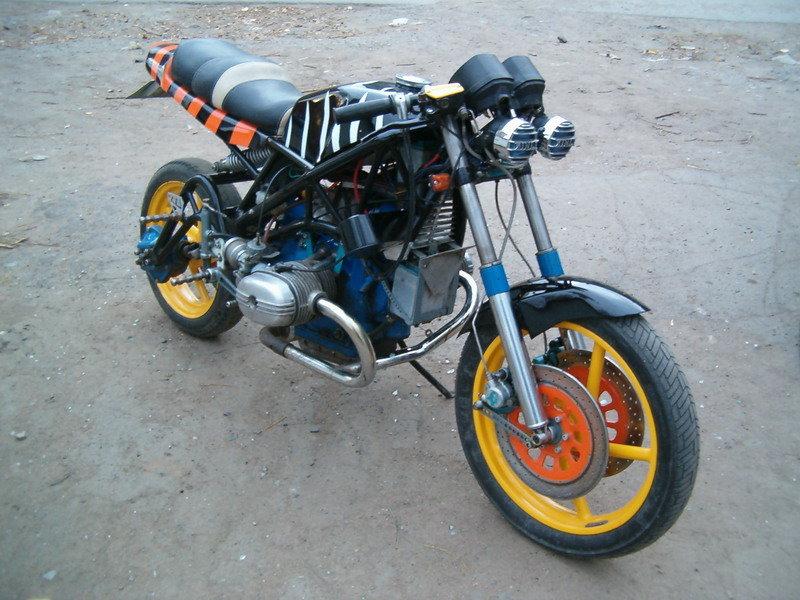 Как сделать тюнинг своими руками на мотоцикл