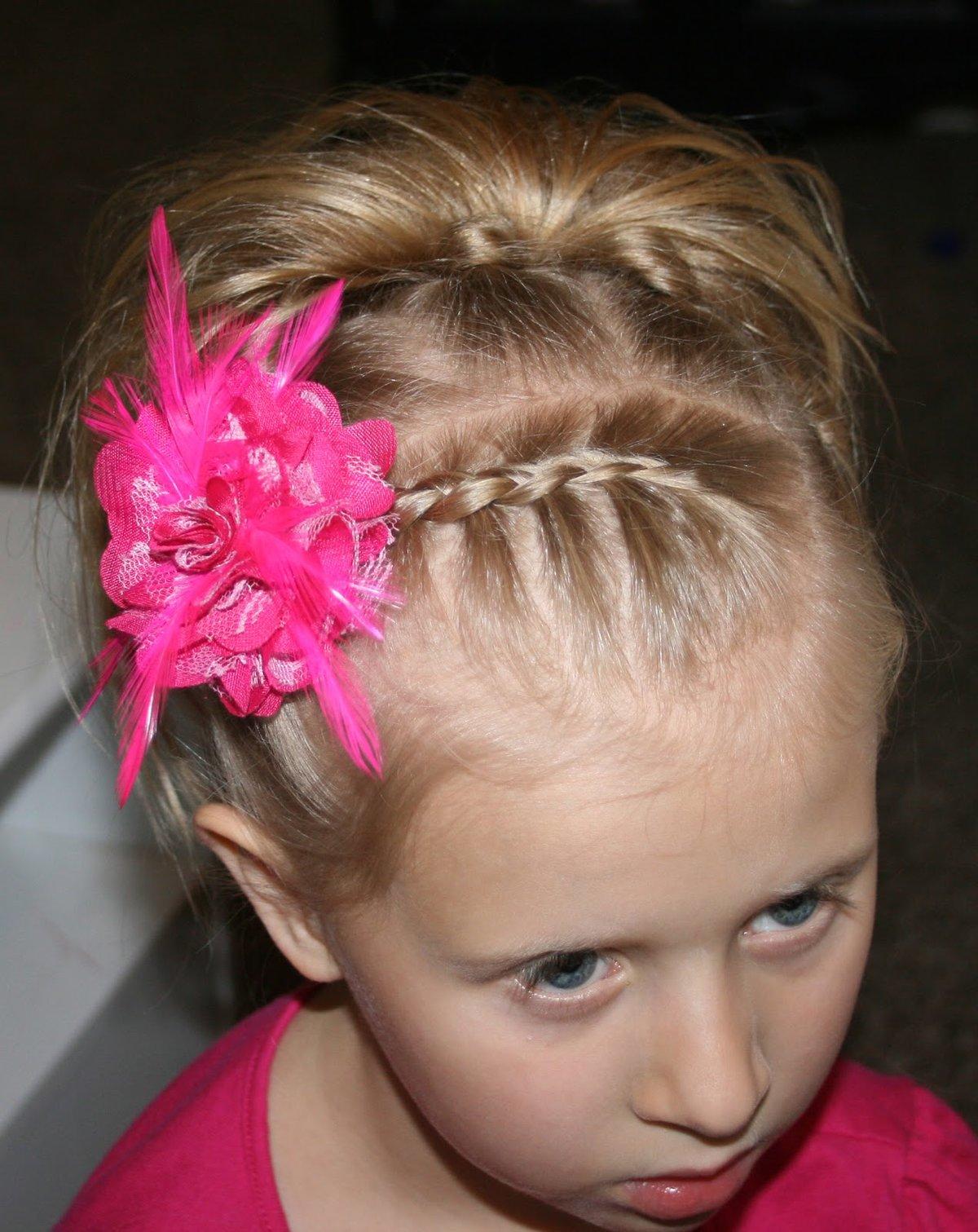 Прически на очень короткие волосы для девочек фото