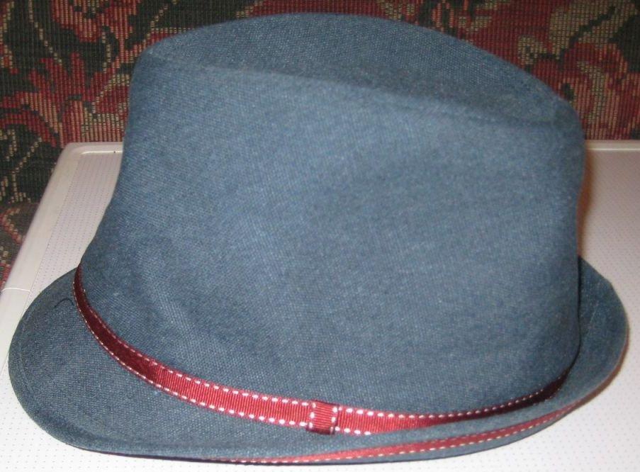 Шляпа пирожок своими руками 26