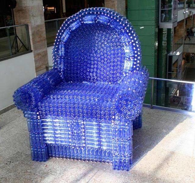 Как сделать пластиковую мебель своими руками
