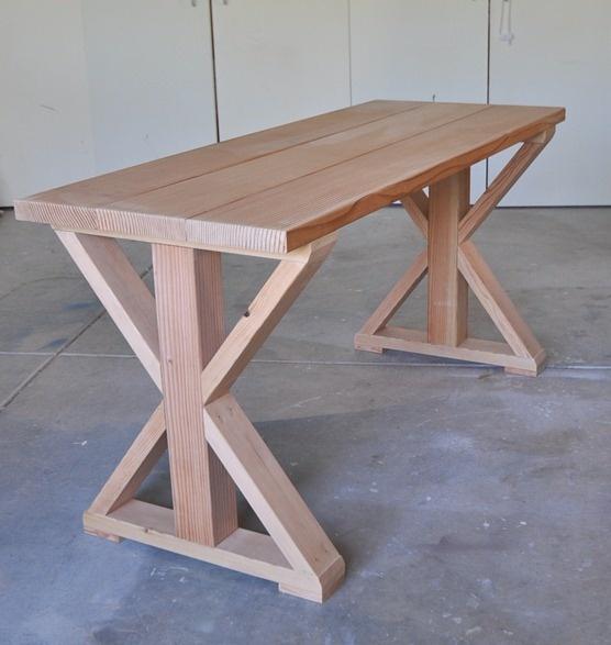 Как сделать стол из досок