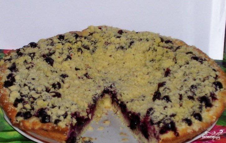 Пирог с смородиной рецепт