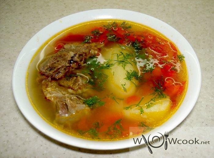 Шурпа суп из баранины рецепт пошагово