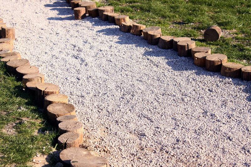 Как сделать дорожку из песка и щебня