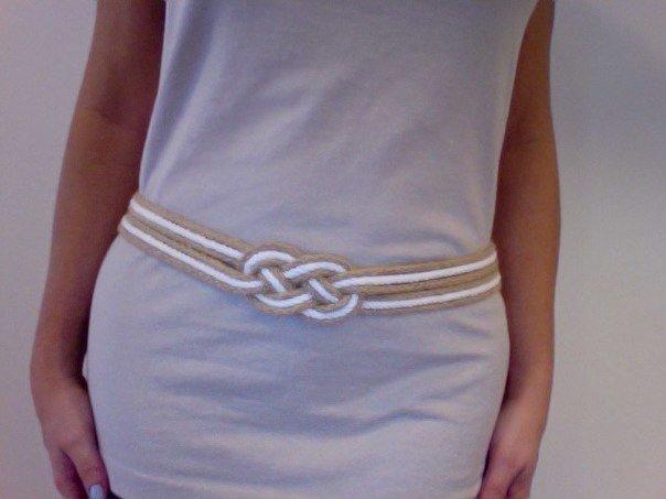 Сделать ремень для платья своими руками из