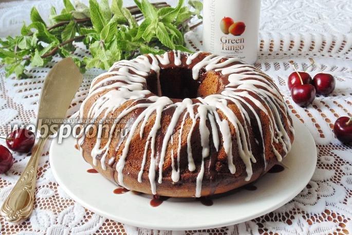 Шоколадные кексы с вишней рецепт пошагово с
