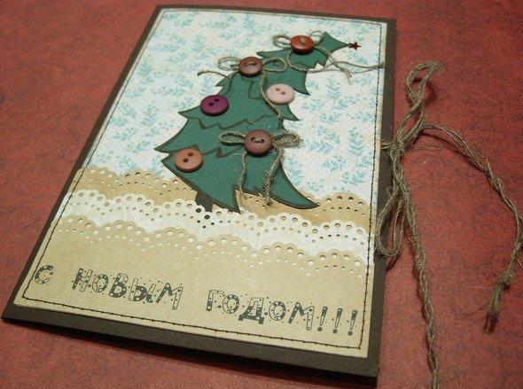 Креативные открытки на новый год своими руками фото