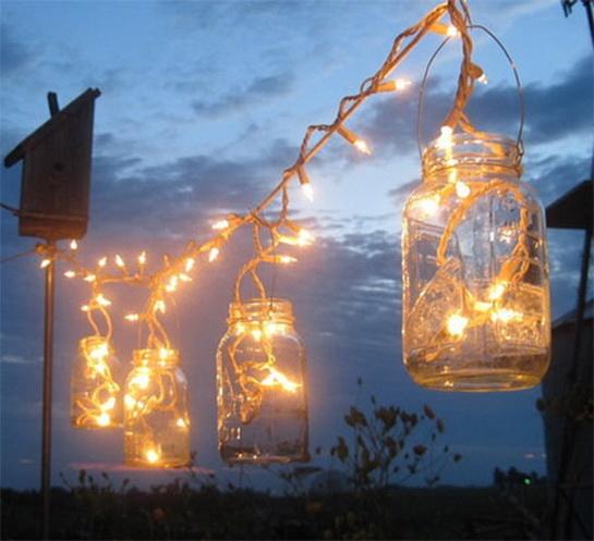 Светильники в сад своими руками 29