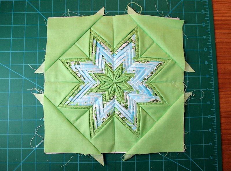 Оригами из ткани для прихватки