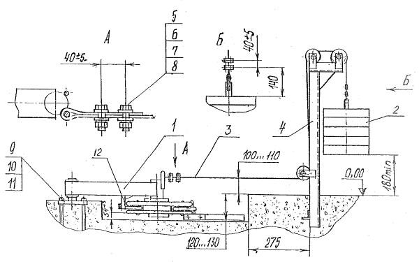 Схема расположения мест в общем вагоне