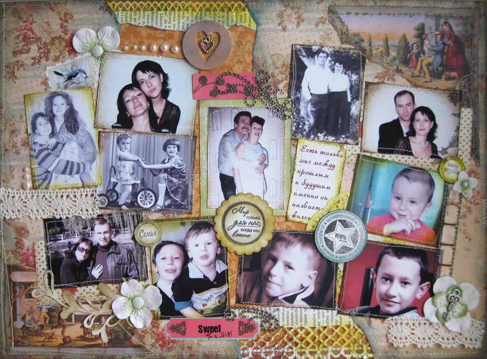 Рамки для подарка с фотографиями внуков 43