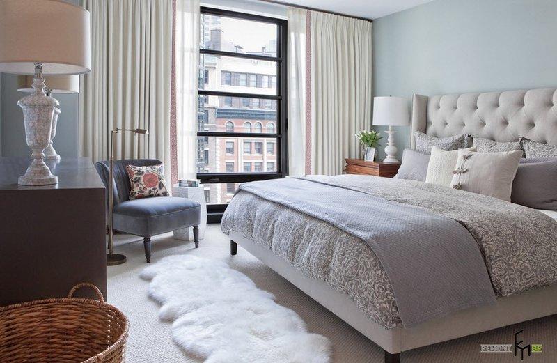 Модный тюль для спальни 2017-2018