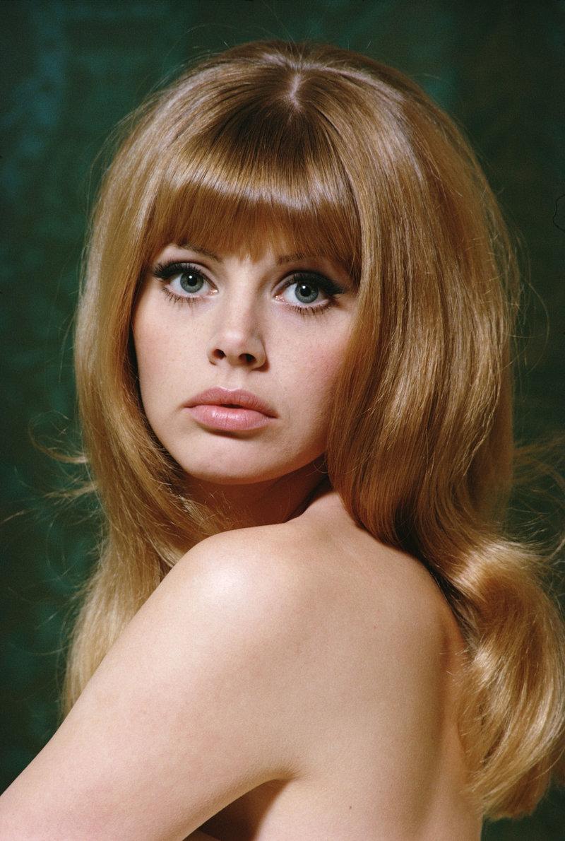 Причёски 70-х годов женские на длинные волосы