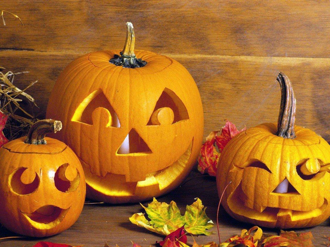 Из тыквы на хэллоуин своими руками