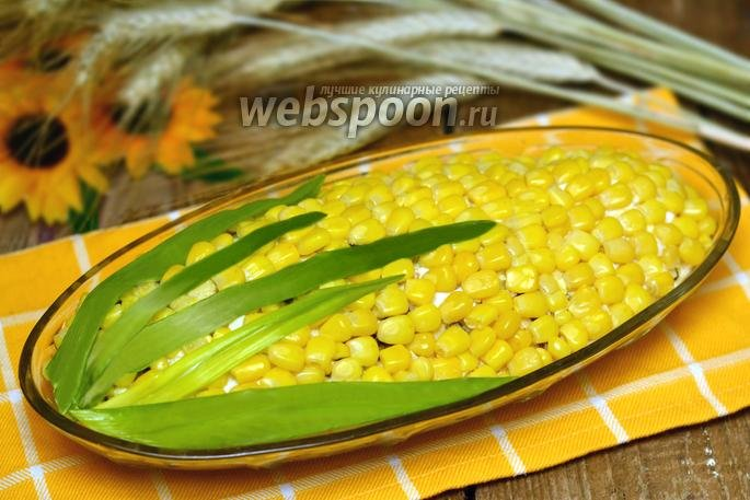 Салат из кукурузы консервированной с яйцами рецепт