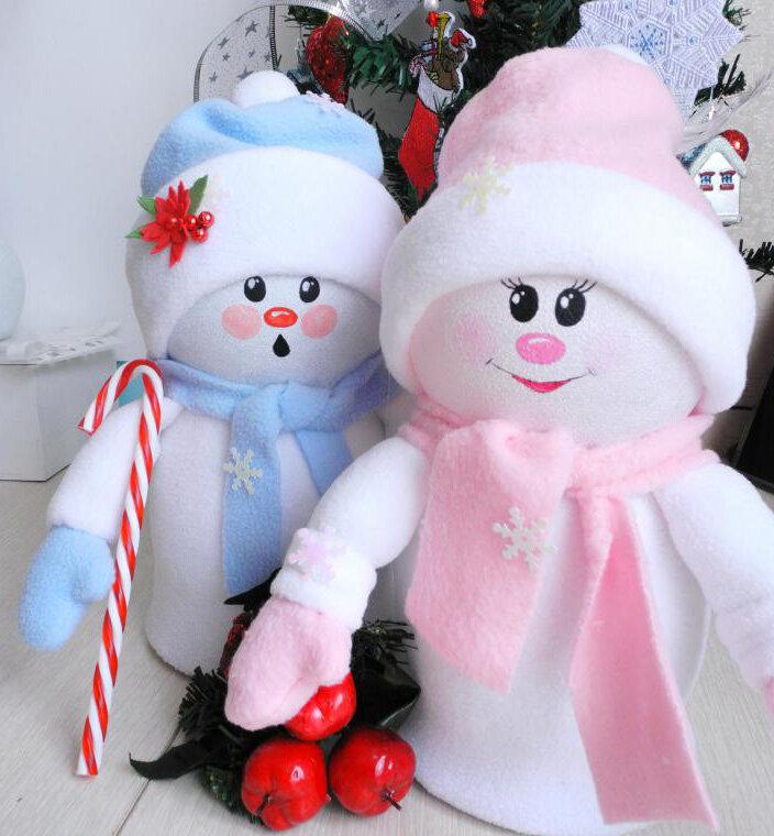 Снеговики своими руками картинки
