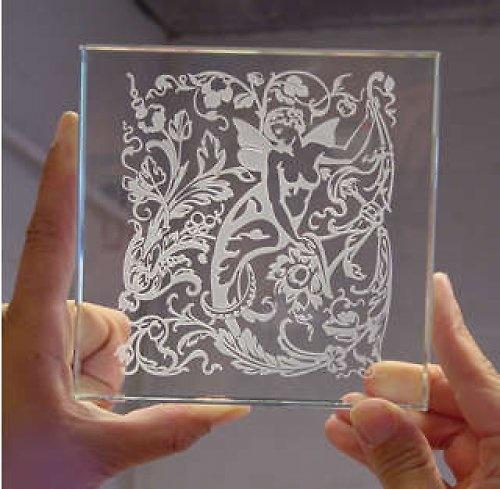 Гравировка на стекле своими руками в домашних условиях