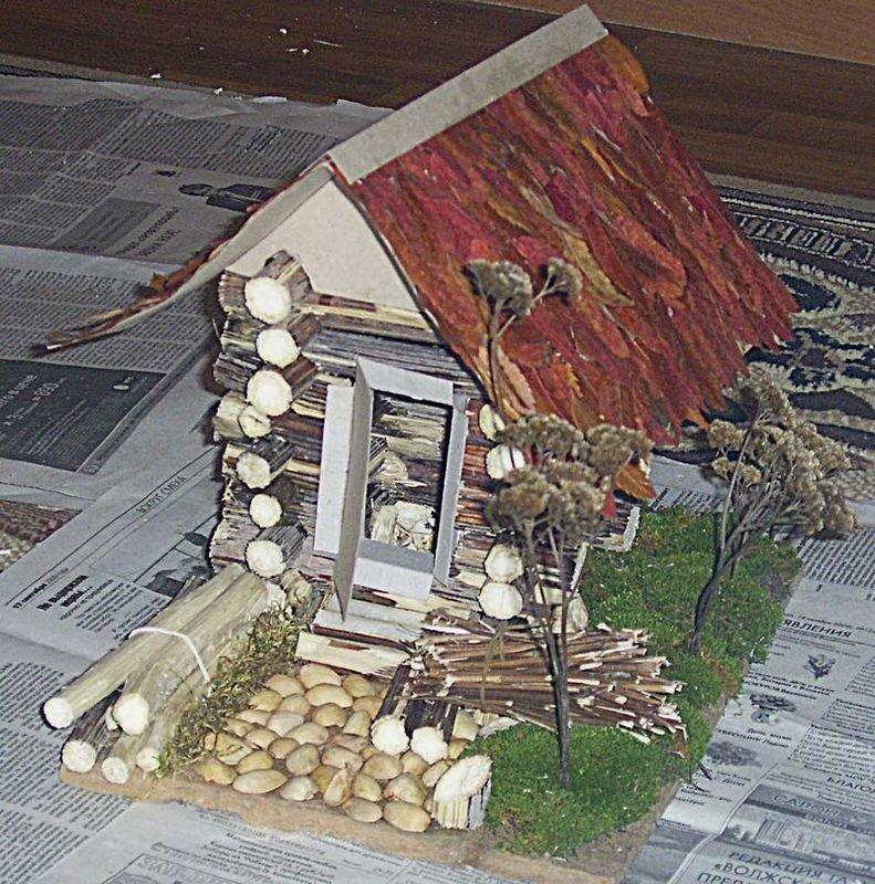 Поделки дома из природных материалов своими руками