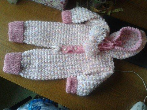 Вязание для детей кофта с регланом