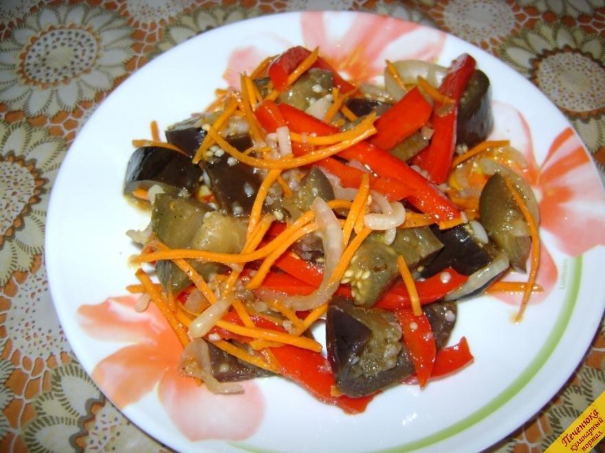 Баклажаны рецепты с фото пошагово по корейски