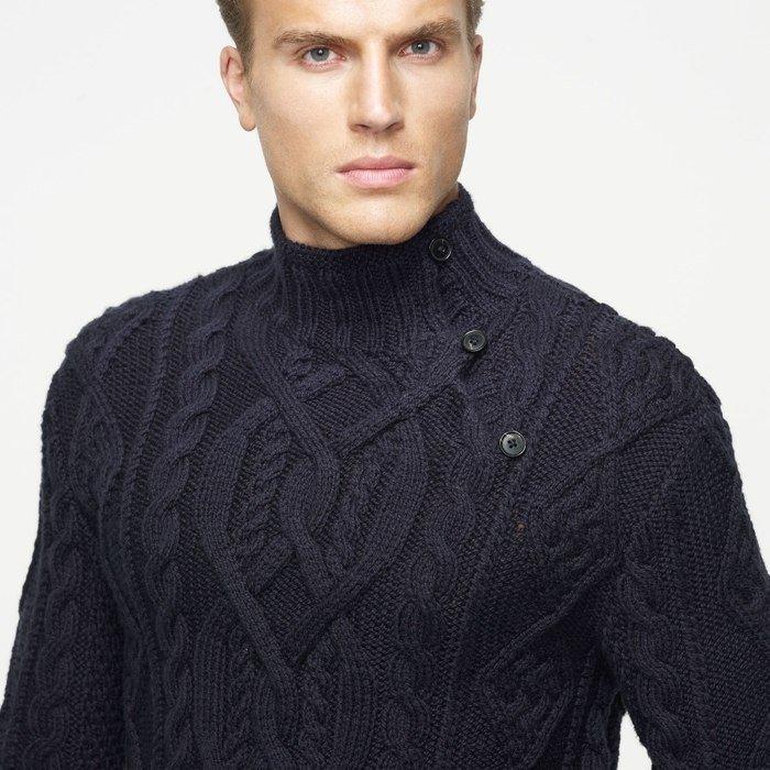 Джемпер. вязание для мужчин 554