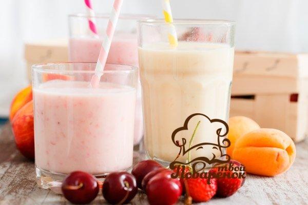 Молочный коктейль с мороженым в блендере рецепт пошагово