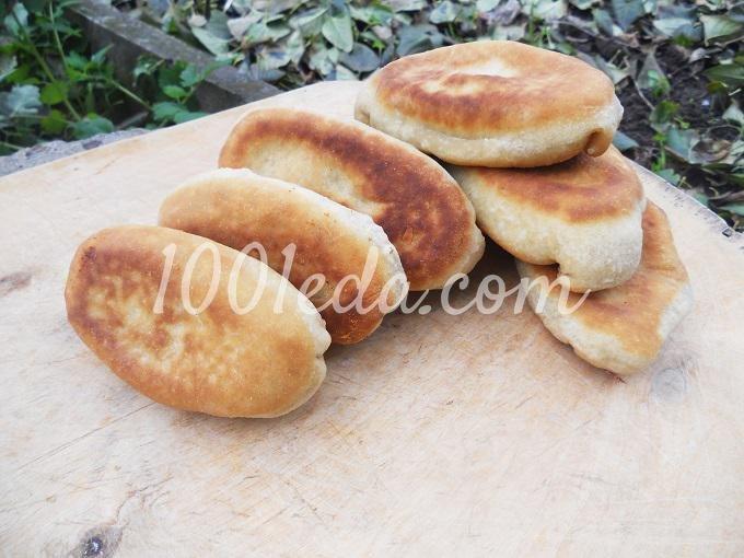 Пирожки с картошкой с пошаговым