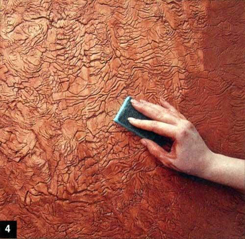 129Отделка стен под кожу своими руками