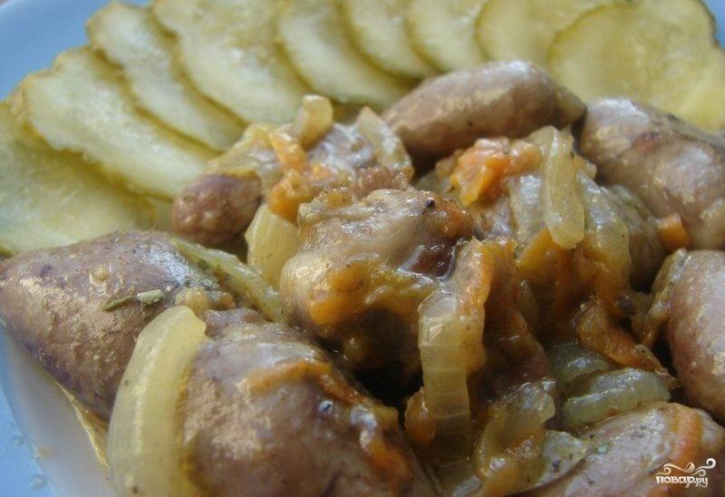 Рецепт пошагово куриных сердечек