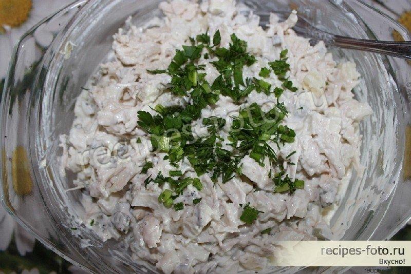 Рецепт салата зимний пошаговый рецепт с