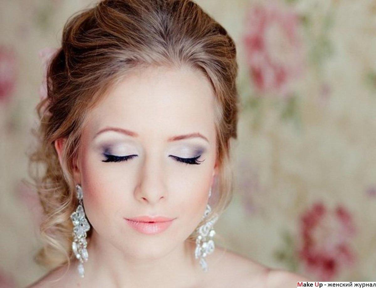 Свадебный макияж фото в домашних условиях