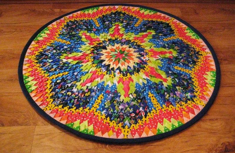 Домашние коврики своими руками