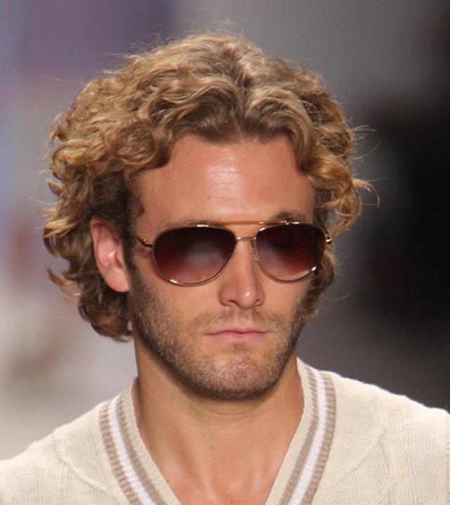 Мужские стрижки на кучерявый волос