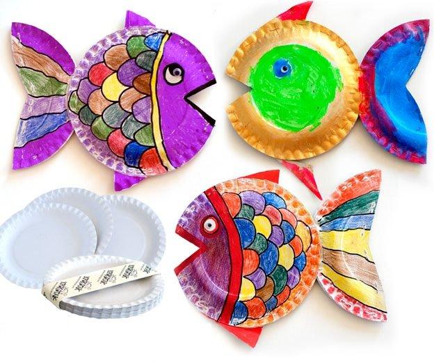 картинки для детей поделки из бросового материала