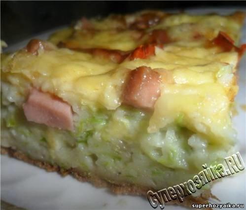 кабачки с яйцом помидорами и сыром в духовке рецепт