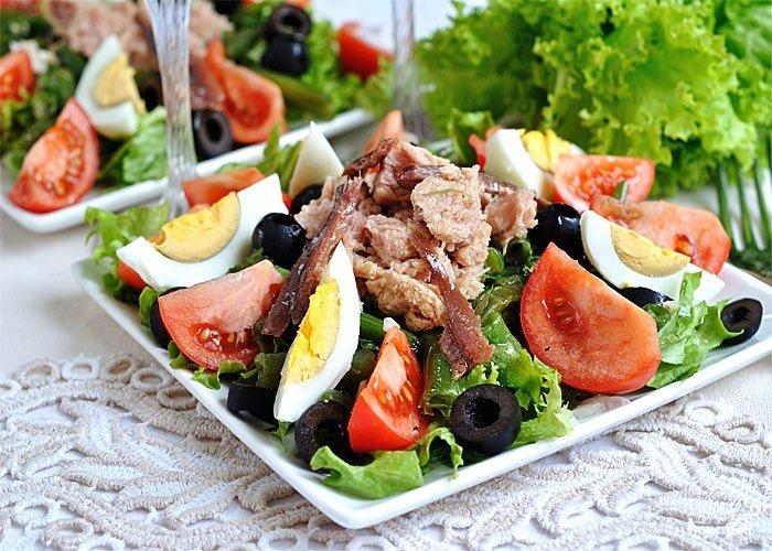 Рецепт салат нисуаз