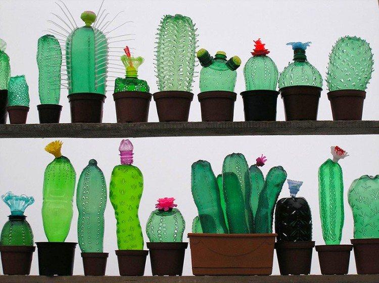 Поделки из пластиковых бутылок к году экологии 35
