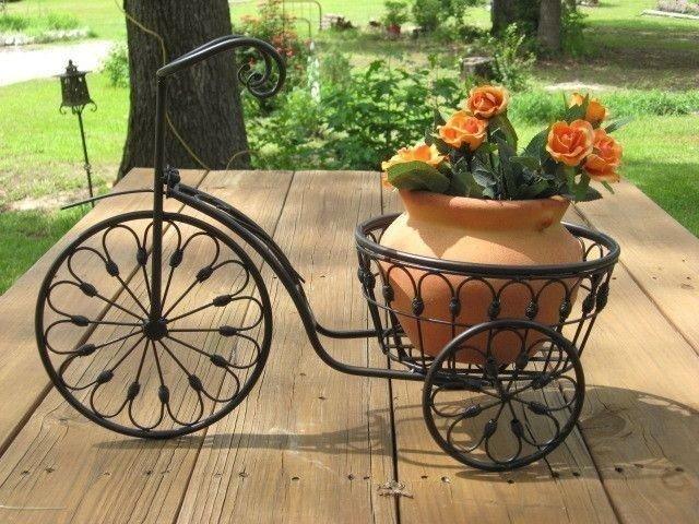 Фото ковка подставка под цветы
