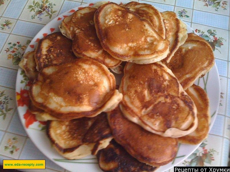 Сладкие оладьи на кефире рецепт с фото пошагово