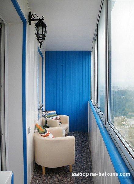 Отделка балконов в хрущевке дизайн