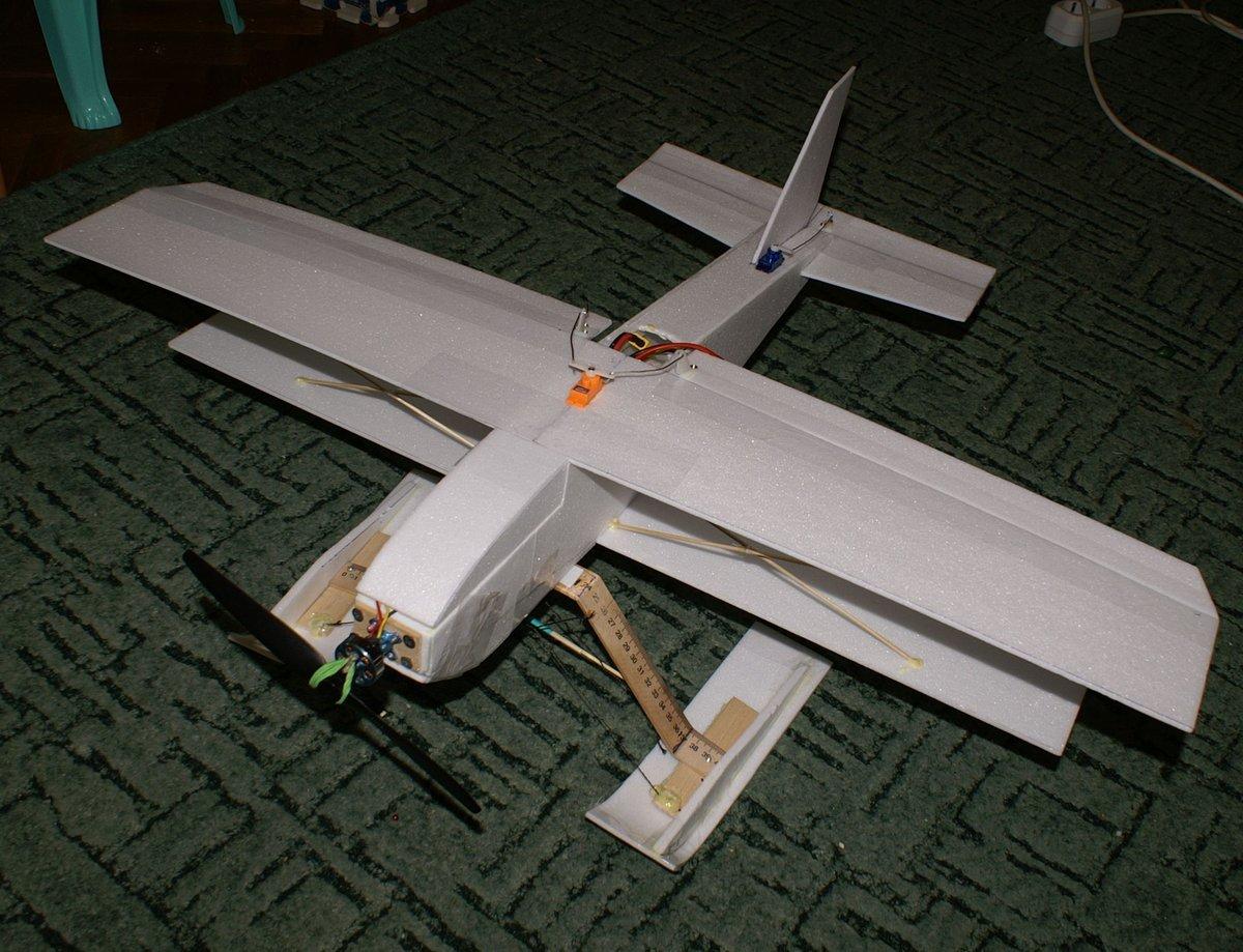 Собрать авиамодель своими руками 74