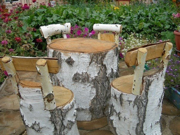 Поделки из дерева в огород своими руками