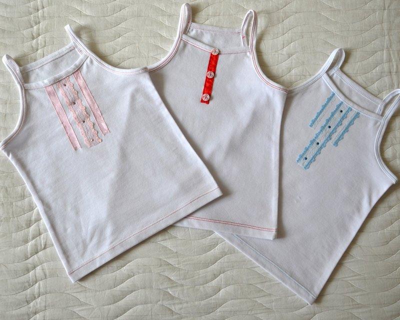 Сшить футболку для девочки своими руками