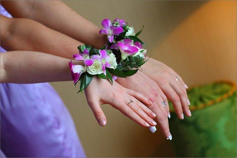 Букет на руку для подружек невесты своими руками 101