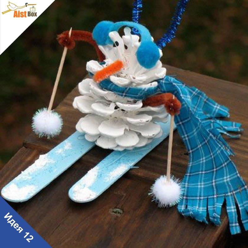 Зимний игрушка своими руками