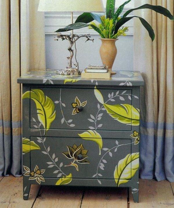 Декорирование старой мебели своими рука