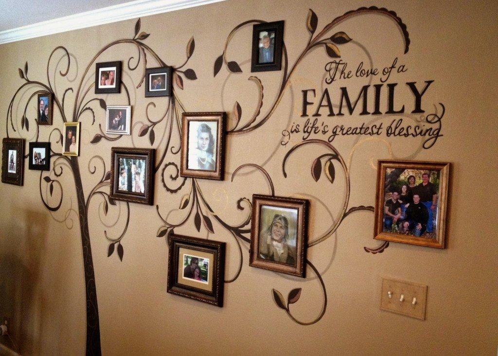 Как из фото сделать дерево семейное