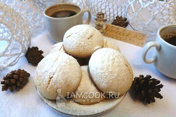 Печенье тающий снег рецепт с пошагово